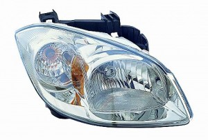 2007-2008 Chevrolet (Chevy) Cobalt Headlight Assembly (w/ Clear Turn Signal) - Right (Passenger)