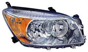 2006-2008 Toyota RAV4 Headlight Assembly (Base/Limited Model) - Left (Driver)
