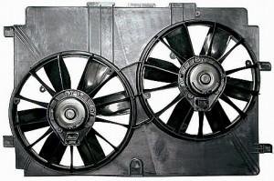 1998-2004 Chevrolet (Chevy) Corvette Radiator Cooling Fan Assembly