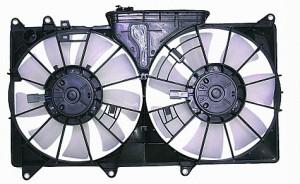 2001-2005 Lexus IS300 Radiator Cooling Fan Assembly