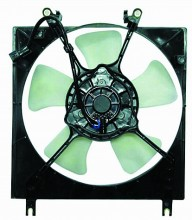 1997-2002 Mitsubishi Mirage Radiator Cooling Fan Assembly (1.8L / Automatic / DEPO)