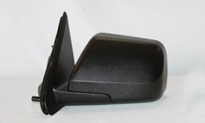 2008-2009 Mercury Mariner Side View Mirror (Non-Heated / Power Remote / Black) - Left (Driver)