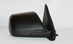 2008-2009 Ford Escape Hybrid Side View Mirror (Power Remote / Heated / Black / Escape Limited Hybrid) - Right (Passenger)