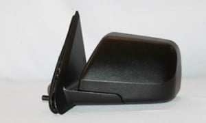 2008-2009 Mercury Mariner Side View Mirror (Heated / Power Remote / Black / Mariner Hybrid / Mariner Premier) - Left (Driver)