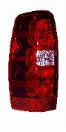 2007-2011 Chevrolet (Chevy) Avalanche Tail Light Rear Lamp - Left (Driver)