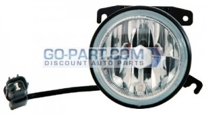 2003-2005 Honda Pilot Fog Light Lamp - Left (Driver)