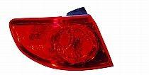 2007-2009 Hyundai Santa Fe Tail Light Rear Lamp - Left (Driver)