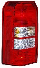 2008-2011 Jeep Patriot Tail Light Rear Lamp - Left (Driver)