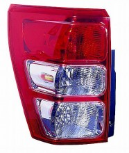 2006-2010 Suzuki Grand Vitara Tail Light Rear Lamp - Left (Driver)