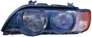 2000-2003 BMW X5 Headlight Assembly (Halogen / with White Turn Signals) - Right (Passenger)