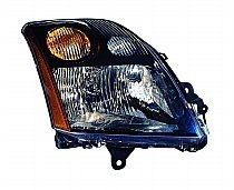 2007-2009 Nissan Sentra Headlight Assembly (2.5L) - Left (Driver)