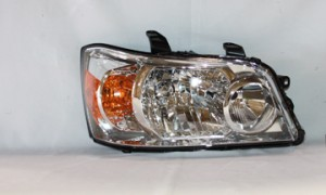 2007-2007 Toyota Highlander Headlight Assembly - Right (Passenger)