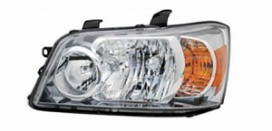 2007-2007 Toyota Highlander Headlight Assembly - Left (Driver)