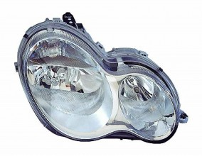 2005-2007 Mercedes Benz C230 Headlight Assembly - Left (Driver)