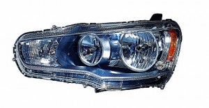 2008-2010 Mitsubishi Lancer Headlight Assembly - Right (Passenger)