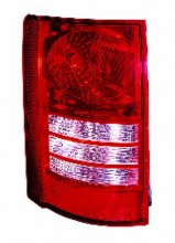 2008-2010 Chrysler Town & Country Van Tail Light Rear Lamp - Left (Driver)