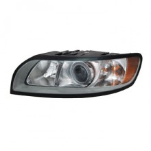 2008-2011 Volvo S40 Headlight Assembly - Left (Driver)