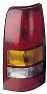 1999-2002 Chevrolet (Chevy) Silverado Pickup Tail Light Rear Lamp - Left (Driver)