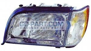 1995-1999 Mercedes Benz S420 Headlight Assembly - Left (Driver)
