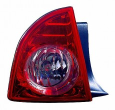 2008-2012 Chevrolet Chevy Malibu Tail Light Rear Lamp (LTZ) - Left (Driver)