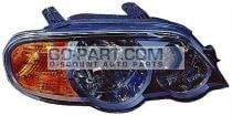 2002-2004 Kia Spectra Headlight Assembly (Hatchback / From 5/01 / Early Design) - Right (Passenger)