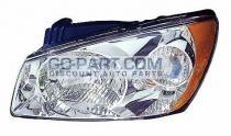 2004-2006 Kia Spectra Headlight Assembly - Left (Driver)