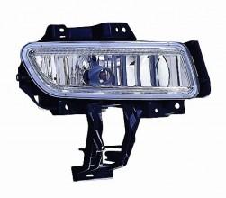 2007-2009 Mazda 3 Mazda3 Fog Light Lamp (with Turbo) - Right (Passenger)