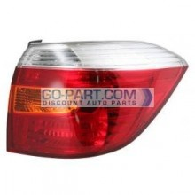 2008-2010 Toyota Highlander Tail Light Rear Lamp (OEM / Base) - Right (Passenger)