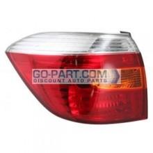 2008-2010 Toyota Highlander Tail Light Rear Lamp (OEM / Base) - Left (Driver)