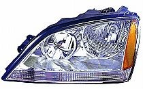 2003-2004 Kia Sorento Headlight Assembly - Left (Driver)