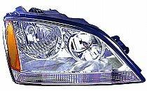 2003-2004 Kia Sorento Headlight Assembly - Right (Passenger)