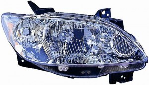 2004-2006 Mazda MPV Headlight Assembly (OEM / without Rocker Moldings) - Right (Passenger)