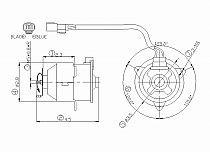 2002-2006 Honda CR-V Radiator Cooling Fan Motor