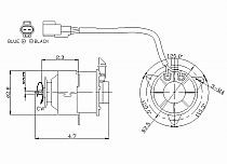 1992-1999 Toyota Celica Radiator Cooling Fan Motor