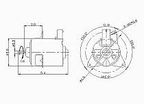 1995-1999 Dodge Neon Radiator Cooling Fan Motor