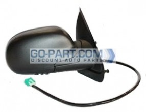 2004-2007 Buick Rainier Side View Mirror (Foldable / Heated / Power Remote / without Dimmer / Black) - Right (Passenger)
