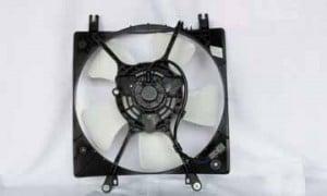 1995-1999 Mitsubishi Eclipse Radiator Cooling Fan Assembly