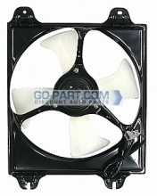 1999-2003 Mitsubishi Galant Condenser Cooling Fan Assembly (2.4L / 3.0L)