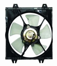 1989-1993 Mitsubishi Galant Cooling Fan Assembly