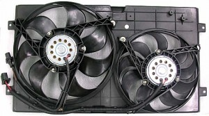 1999-2005 Volkswagen Beetle Radiator Cooling Fan Assembly
