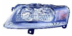 2005-2010 Audi A6 Headlight Assembly - Left (Driver)