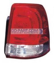 2008-2010 Toyota Landcruiser Tail Light Rear Lamp (Lens/Housing / On Body) - Right (Passenger)