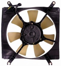 2002-2007 Suzuki Aerio Radiator Cooling Fan Assembly