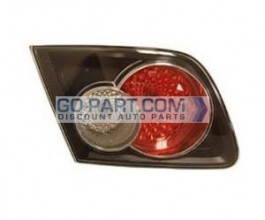 2006-2008 Mazda 6 Mazda6 Tail Light Rear Lamp (OEM / Sedan / with Turbo / Inner) - Left (Driver)