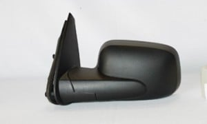 2006-2011 Chevrolet Chevy HHR Side View Mirror (Black / Power Remote / Non-Heated) - Left (Driver)