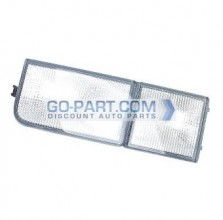 1995-1997 Volkswagen Passat Front Side Reflector (Tow Eye Reflector / without Fog Lamps) - Left (Driver)