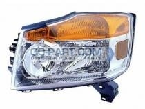 2008-2011 Nissan Armada Headlight Assembly - Left (Driver)