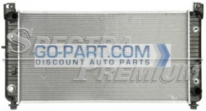 2001-2002 Chevrolet (Chevy) Suburban Radiator (4 Speed Automatic)