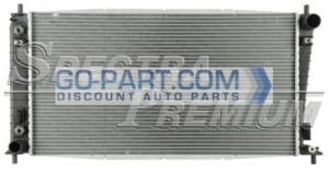 2005-2006 Lincoln Navigator Radiator (With 1-inch Core)