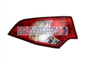 2009-2011 Acura TSX Tail Light Rear Lamp - Left (Driver)